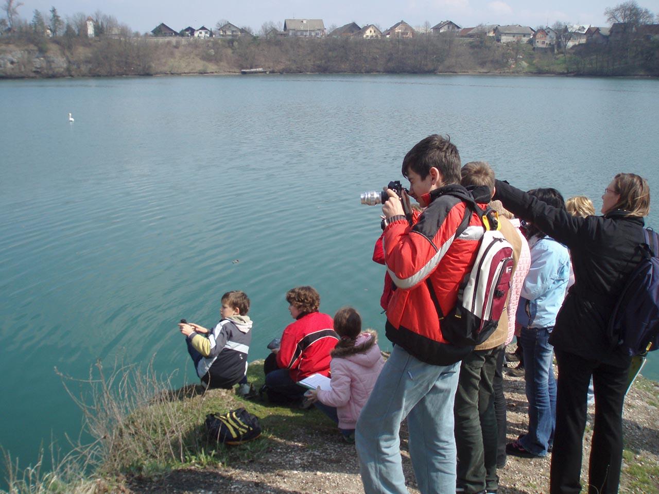 Organiziranje naravoslovnega izobraževanja ter promocija narave Trbojskega jezera